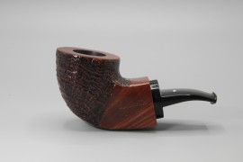 Caminetto Sandblasted Quadrato Reverse