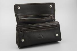 Bag Pipes Dark Brown Nappa